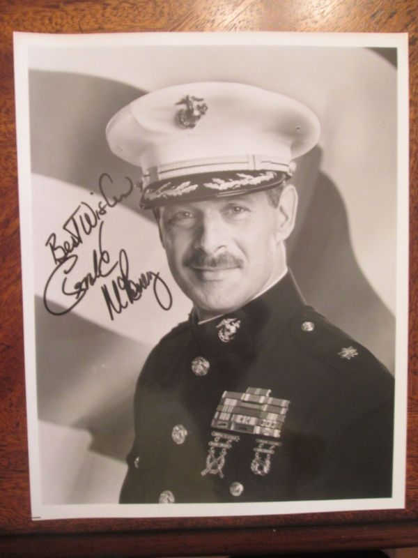 Gerald McRaney Pre-Printed Autograph on 8 x 10 Photo~Major Dad Actor TV - Actor, autograph, Dad, Gerald, MAJOR, Mcraney, Photo, Pre, printed