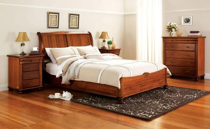 Forty Winks La Perouse classic light toned bedroom furniture suite with white linen and classic décor