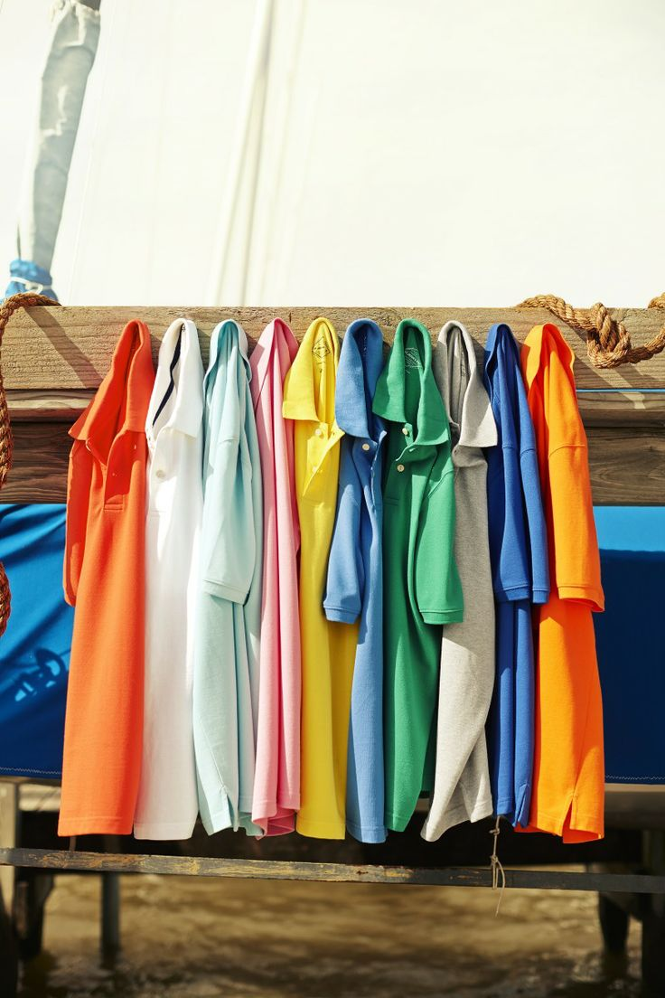 Men's polos in ever color imaginable!