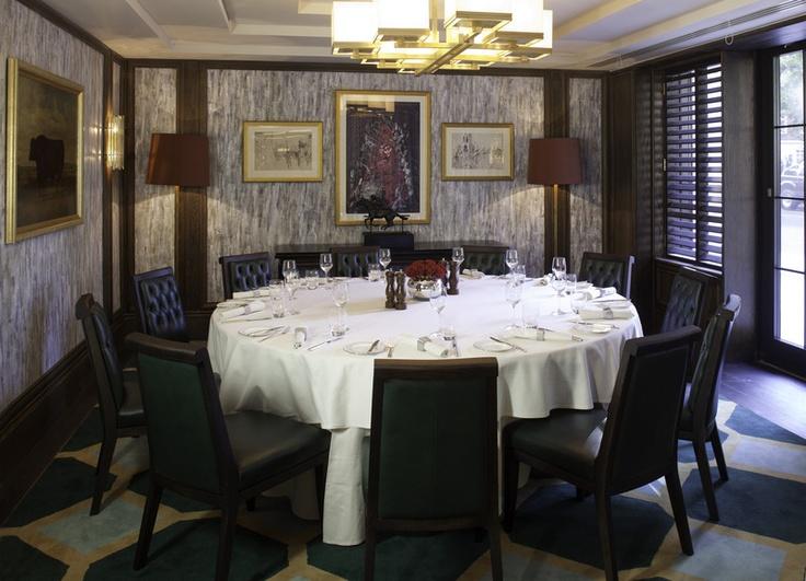 Jumeirah Carlton Tower Hotel - London Restaurants - Rib Room ...