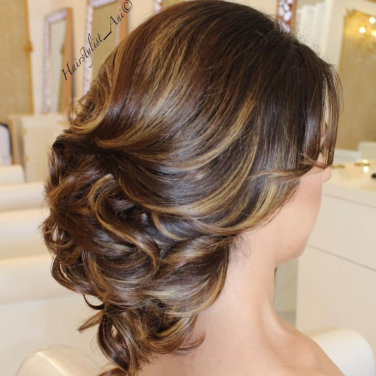Wedding Party Hairstyle For Thin Hair