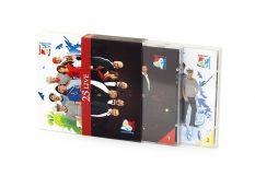 Obwoluta podwójna, tłoczenie płyt DVD, CD