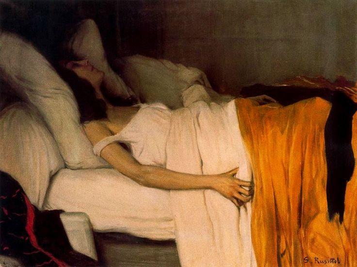 "Santiago Rusiñol: ""La morfina"" (1894)"