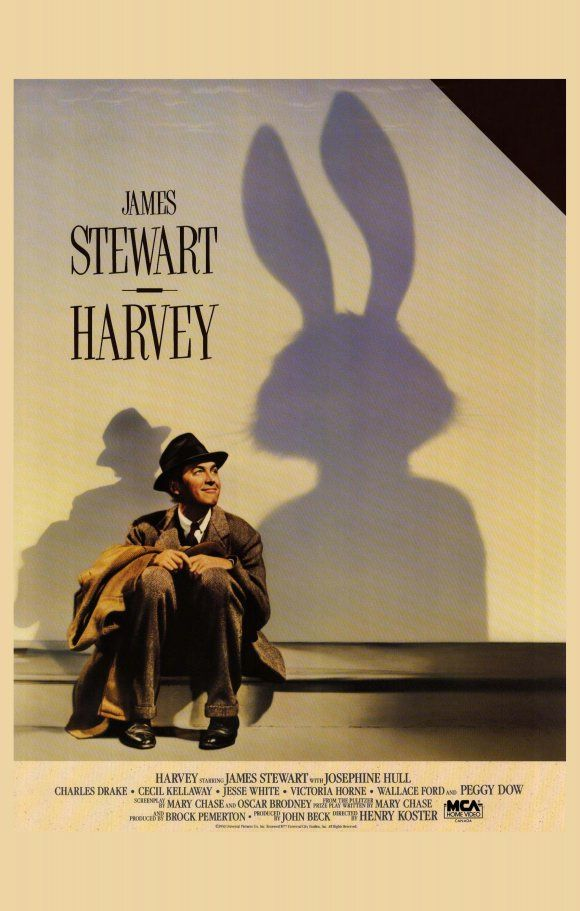 Harvey is a 1950 film based on Mary Chase's play of the same name, directed by Henry Koster, and starring James Stewart and Josephine Hull.