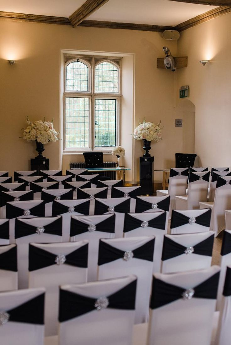 The Abbot's Hall dressed up with an Old Hollywood Glamour theme #NotleyAbbey…