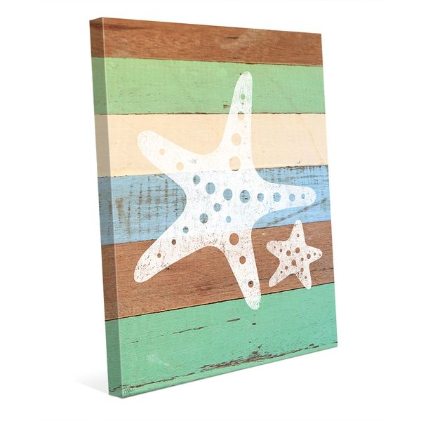 Overstock Com Online Shopping Bedding Furniture Electronics Jewelry Clothing More Starfish Wall Art Chic Wall Art Wall Canvas