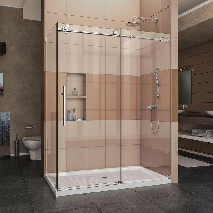 Corner Showers With Sliding Doors