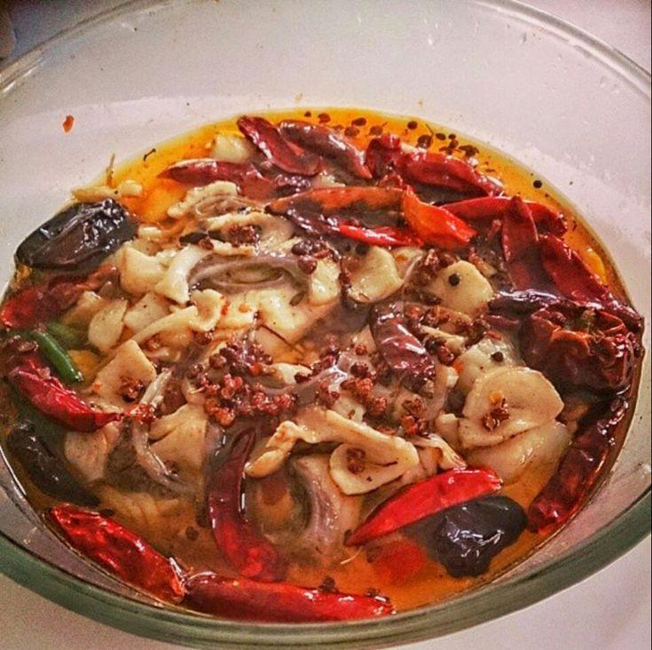 水煮魚 Sichuan Spicy Fish