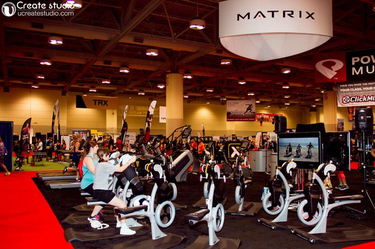 Matrix at Canfitpro trade show toronto 2013 @Darlene Rathwell