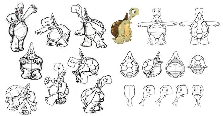 Turtle Model Sheet by bmaras.deviantart.com on @deviantART