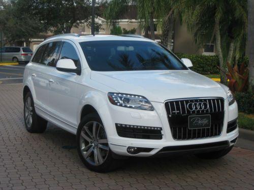 Audi Q7 TDI Premium Plus   the only suv I don't mind in white