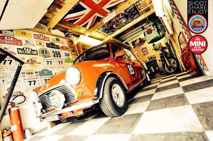 914 best mini cooper images by sherri wilson on pinterest for Garage mini 77
