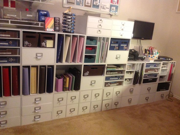 12 best images about craft room organization on pinterest for Recollections craft room storage amazon
