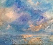Ciel de la mer du nord. A. Mt. Vankerk. Mt