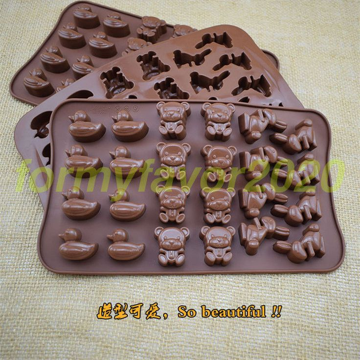 20 Shapes Silicone Biscuits Baking Mold