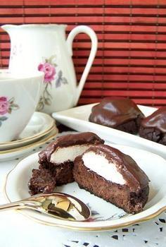 Шоколадное печенье с зефиром