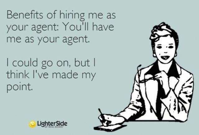 Advantages Of Hiring Me As Your Agent Before You Ask A Question
