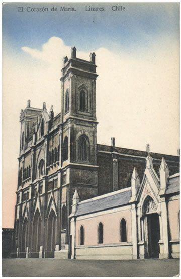 La Iglesia El Corazón de María de Linares