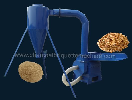 Wood hammer mill is a kind of multifunctional wood crushing machine, it can be used for grinding small diameter material such as corn straw, branch, herbal and so on whose diameter is less than 50mm , after grinding, the material fineness can reach to 3-5mm. Advanced technology, high quality and reasonable price makes it popular in wood pellet plant and biomass briquettes production line. E-mail: briquettepress2013@gmail.com