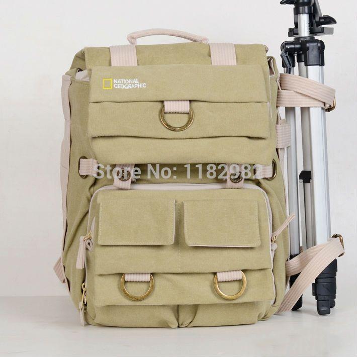 Национальный географический NG5160 проводник земля NG5160 холст камеры DSLR сумка рюкзак / чехол / сумку для ноутбука для C @ , не Ni @ на S @ пу
