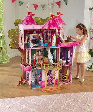 Another great find on #zulily! Storybook Mansion Dollhouse #zulilyfinds