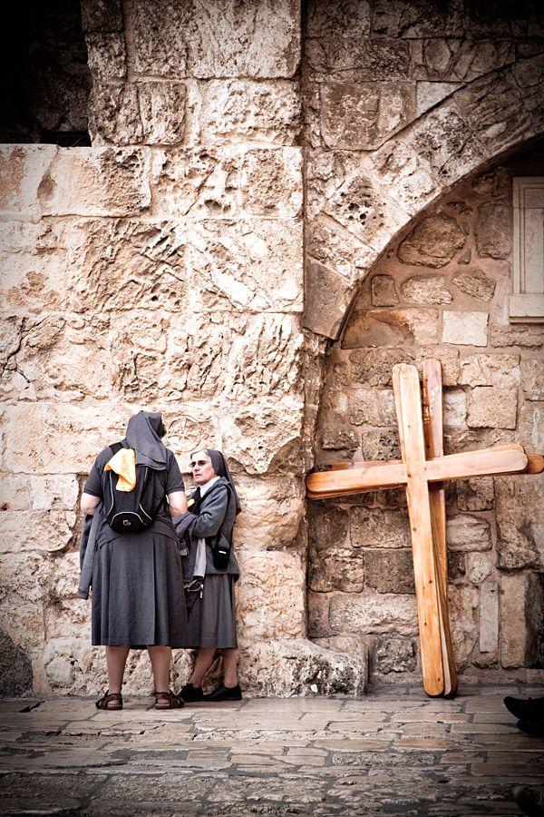 The Church Ladies by Ohad Ben-YosephChurch Lady, Israeli Nun, Jerusalem Israel