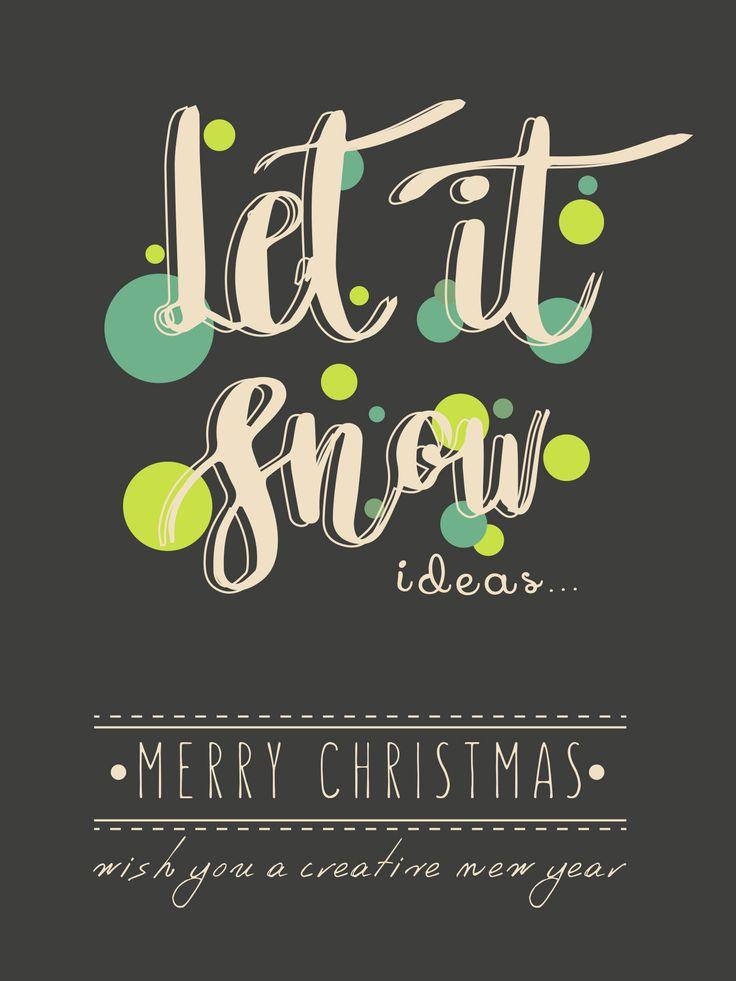 let it snow ideas