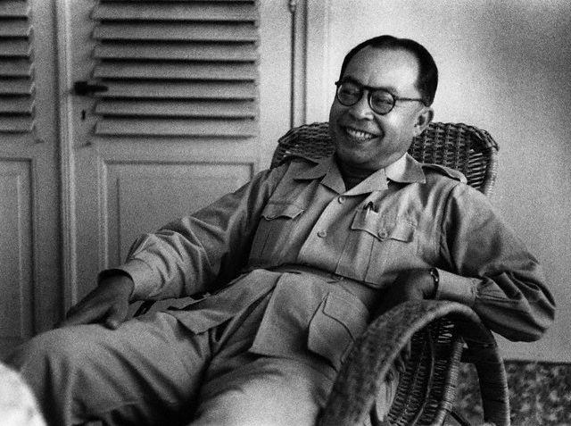 Senyum Proklamator RI Drs. Mohammad Hatta