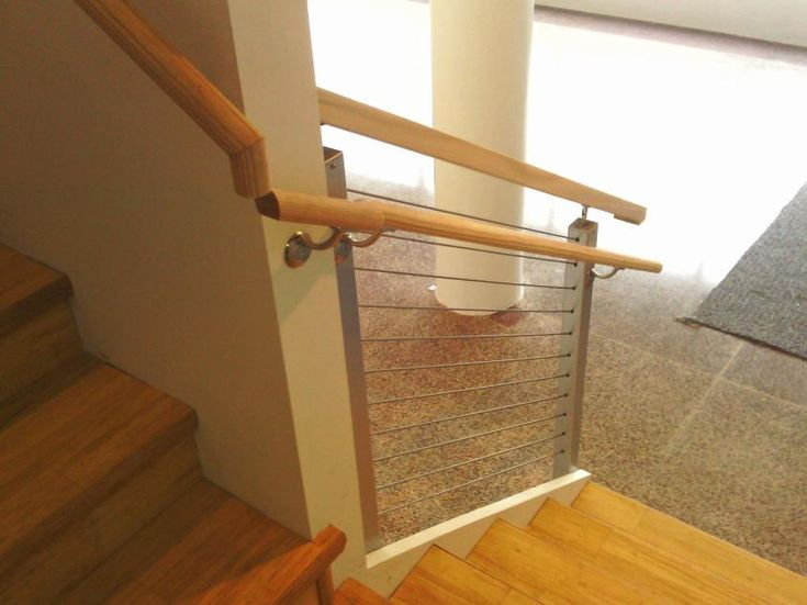 Modern Indoor Stair Railing Kits Systems For Your Inspiration 15