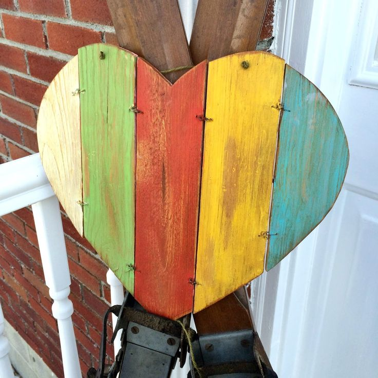 Rustic Wooden  Valentine by Adirondack Girl @ Heart