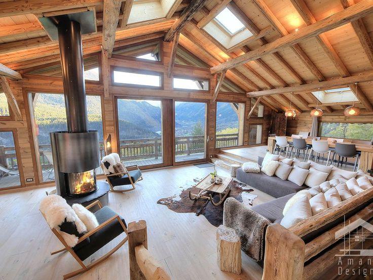 Les Houches, Chalet de vacances avec 5 chambres pour 12 personnes. Réservez la … – Alpenmassiv