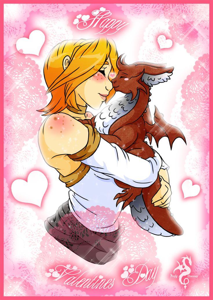 Be My Fluffy Puffy Dragon Valentine By Arofexdracona | Holiday Valentines  Day Dragon | Pinterest | Valentines, Art And Dragon