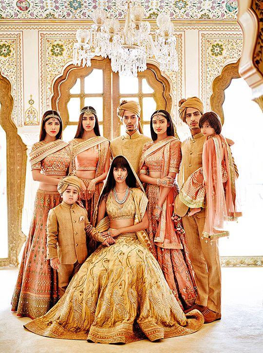 Indian fashion-Anita Dongre: The Wedding Diaries 2015