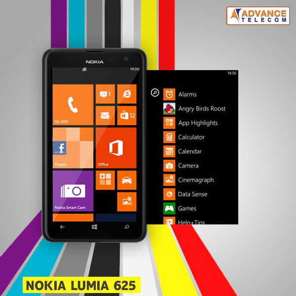 Pin almost anything and everything to the home-screen of Nokia Lumia 625!