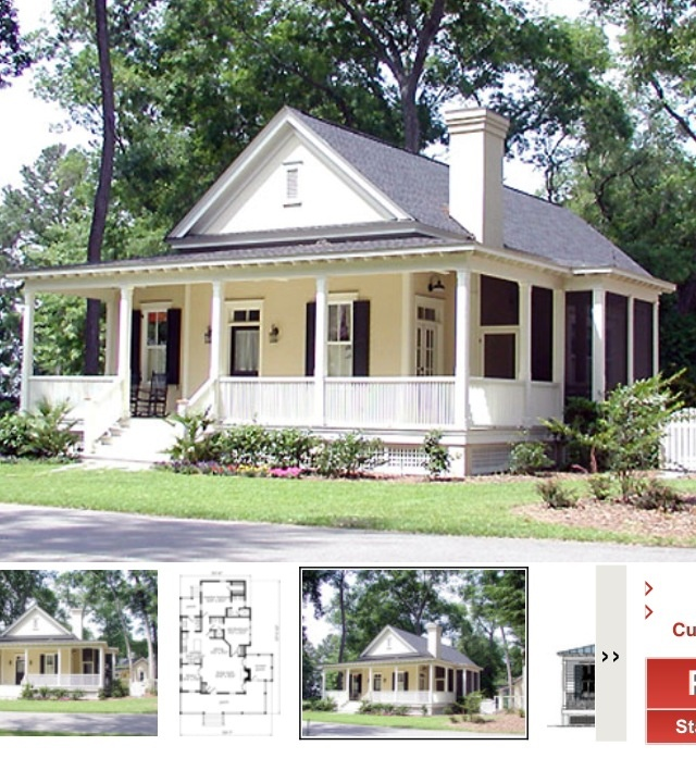 Southern Cottage House Plans: The Floor Plan For Our House
