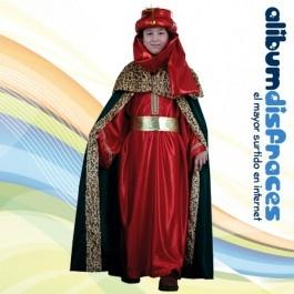 Disfraz de Rey Baltasar Lujo Rojo - €16.50