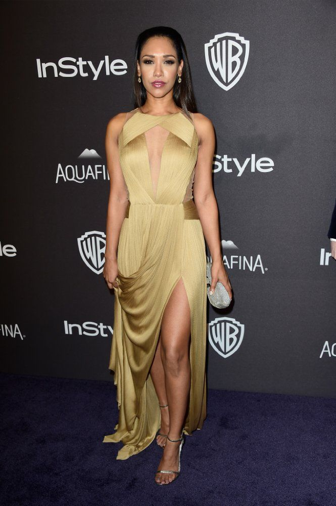 Candice Patton at 73rd Golden Globe Awards (2016)