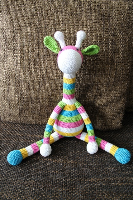 Ravelry: Project Gallery for Crocheted Toy Giraffe pattern by Yana Ivey