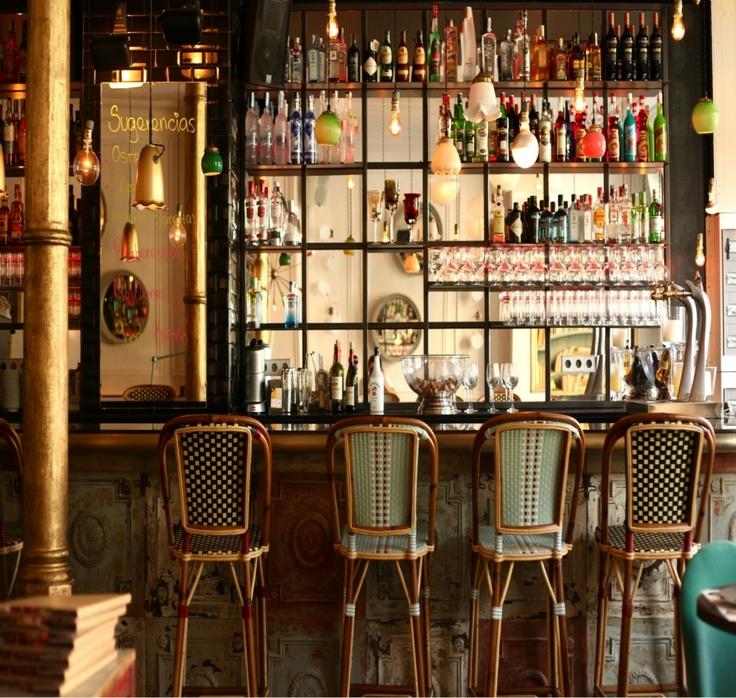 Cafe kafka barcelona citys of the world pinterest del siglo barcelona y restaurante - Restaurante 7 puertas barcelona ...