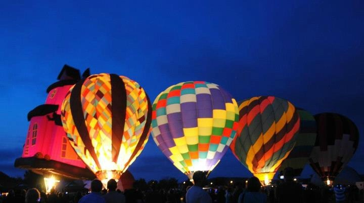 Hot Air Balloon Festival - Sussex, New Brunswick, Canada - 9/7/12