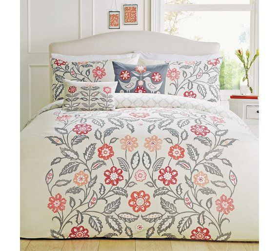 buy dreams n drapes montague red bedding set double at argoscouk