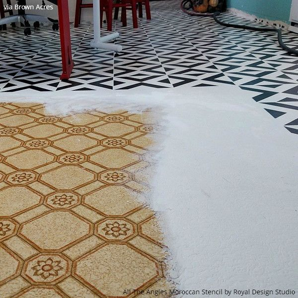 Floor Stencils: The Best Kept Secret of Floor Remodeling - 11 Ideas that You Will Want to Recreate with Royal Design Studio Floor Stencils