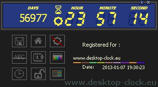 Voice Digital Clock and Digital Countdown Timer 1.3 is a simple Windows application that allows both to count down the time from the set date as well as to monitor the current date and time.