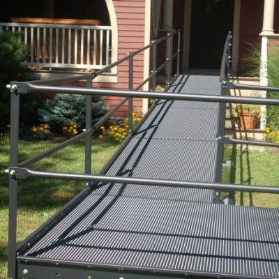 65 best images about ramps on pinterest ramps for for Prefab wheelchair ramp