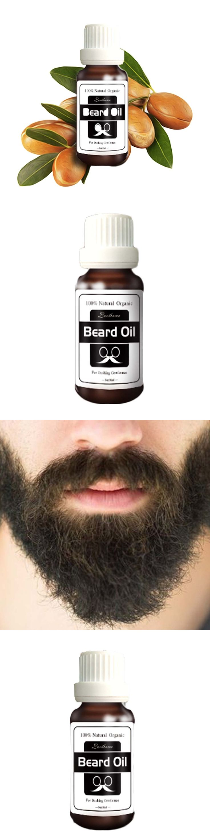 Christmas Promotion  Natural Beard Oil Organic Beard Conditioner Leave in Styling Moisturizing Effect for gentlemen