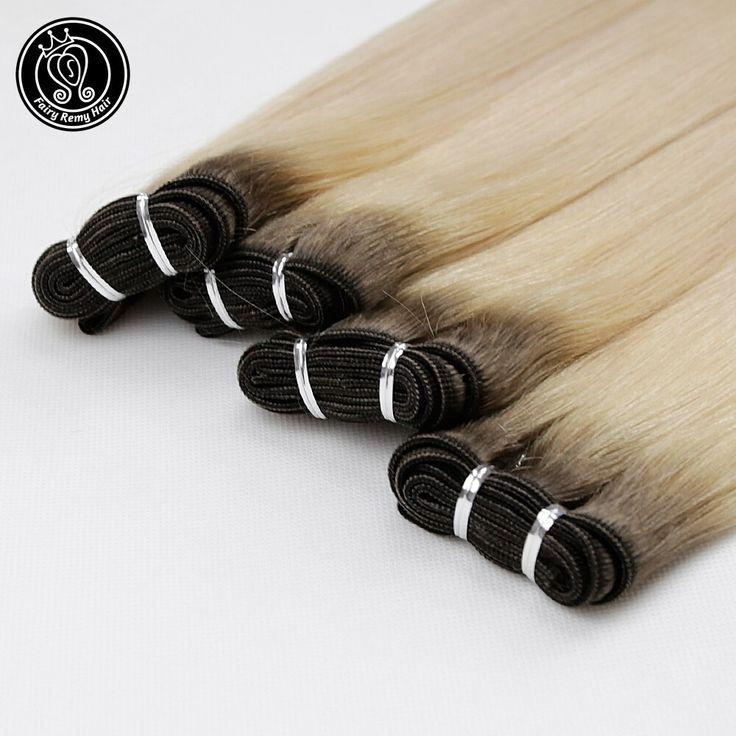 Fairy Remy Hair European Hair Weave Bundles Straig…