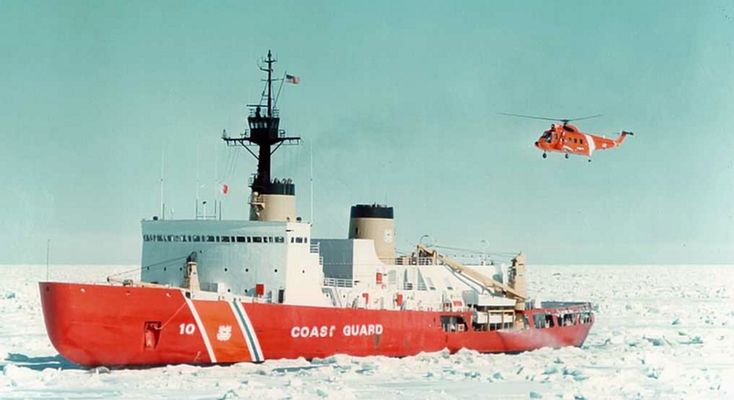 Built in the 1970s, USCGC Polar Star is the Coast Guard's only remaining heavy-duty icebreaker. (USCG)