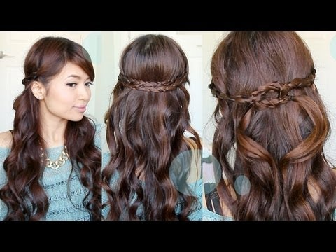 irregular braided headband hairstyle nume magic wand
