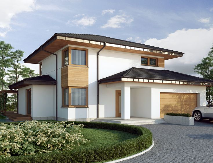DOM.PL™ - Projekt domu DA Poliklet 2 CE - DOM DS1-82 - gotowy projekt domu