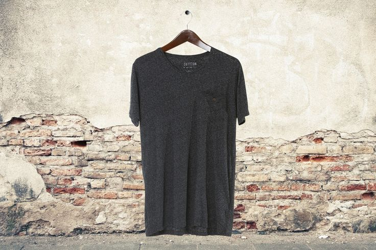 Micro ultra light weight cotton slub jersey for a relaxed fit. Perfect to match with anything. Coconut button detail. This will be your go to everyday T.
